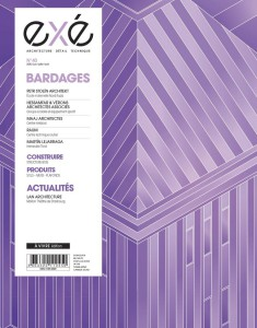 Exé n°40 - Juin-Juillet 2020 : Bardages